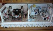 Puppenstube Möbel 20 50er Jahre