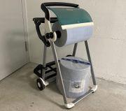 TORK Papierhandtuchspender Bodenständer Abfallsackständer