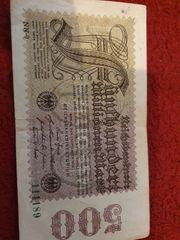 Münzen Scheine deutsches Reich