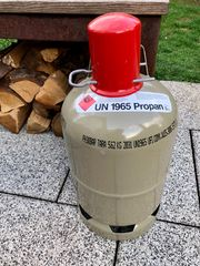 Propangasflasche 5 KG LEER - Nutzungsflasche