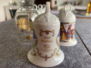 Sammler aufgepasst Hutschenreuther handbemalte Weihnachtsglocken
