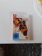 L A Noire Nintendo switch