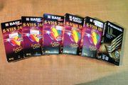 S-VHS Videokassetten BASF Panasonic