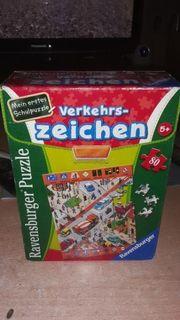 Kinder puzzle Verkehrszeichen 80 Teile