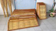 Beetumrandung Holz Hochbeet Gartenbeet Holzelemente