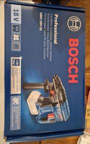 Originalsiegel Bosch Bohrhammer Akkus und