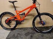 Orange Alpine 6 im Burgtec