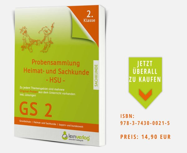 Sachkunde Grundschule 2 Klasse ISBN