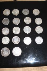 5 DM Sondermünzen