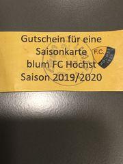 Gutschein für Saisonkarte F C