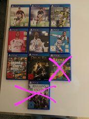 Verschiedene Playstation PS 4 Spiele