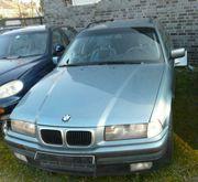 BMW e36 Kombi Motorhaube moreagrün