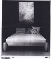 Designer Bett Ondo 140 x 200