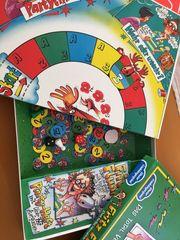 neuwertige Spiele Matador Fingerpuppen Puzzles
