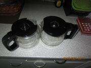 2 Glaskannen für Kaffeevollautomat Severin