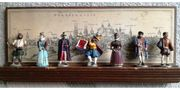 Original HAEFELIN-Raritäten-Zinnfiguren 3 Serien mit