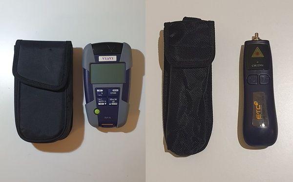 Viavi Optischer Leitungspegelmesser OLP-35 2302/12 (NEU) + ETC Laser