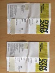 Karten für das DTM-Rennen in