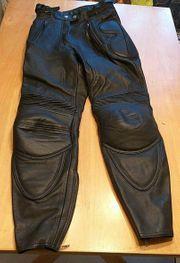 Modeka Damenbikerhose Größe 36 Leder