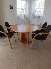 Esszimmer Set Tisch 4 Stühle