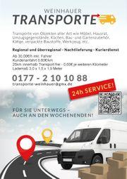 Umzugshelfer Möbeltransport Kurierdienst Kleintransporte