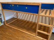 zu verschenken Kinderhochbett IKEA KURA