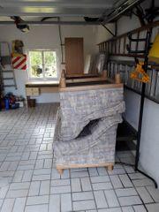 Gepflegte saubere bequeme Couchgarnitur 3-