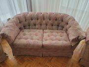 Chesterfield Wohnzimmergarnitur 2 Sofas 2
