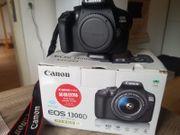 Canon Eos 1300D fast NEU