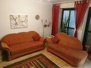Sitzgarnitur Couch Sofa mit Stoff