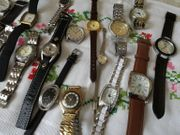 Uhren Sammlung 19 - Stück Teil