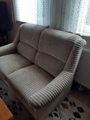 2 Sitzer Couch 2 Sessel