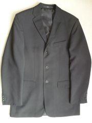 Sakko Anzug-Jackett schwarz 3-Knopf Gr