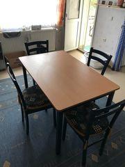 Esstisch mit 4 Stühlen 75