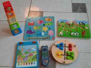 Verschiedene Kleinkind Spielsachen
