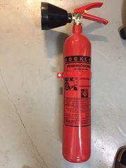 CO² Feuerlöscher 2 kg Schneerohr