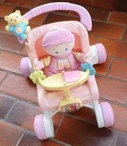 Lauflernwagen Puppenwagen Puppe Fisher-Price