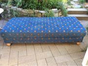 Sofa - Bett mit viel Stauraum