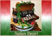 Italienisches Event Deko Themenwelten Mieten