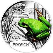 3 EUR Tier Taler Frosch