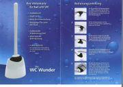 WC-Wunder Toilettenreinigungsgerät - Keimstopp mit Silberionen