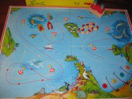 Sonstiges Kinderspielzeug - Geschicklichkeitsspiel Leinen los von HABA