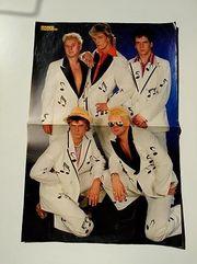 Dösseldorfer Volksmusik 90er Jahre Poster