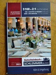 Gutscheinbuch Schlemmerblock 2021 Köln und