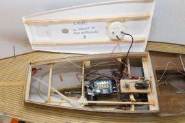 Bild 4 - Graupner Segelboot Optimist Robbe Segelwinde - Hohenlinden