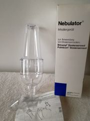 Nebulator Inhalator Inhalationsgerät Inhalation Astma