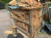 Brennholz Bauholz Abschnitte Zimmerei