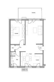2 Zimmer ZKB Wohnung EBK