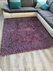 Shaggy-Teppiche 3 Stück lila Langflor