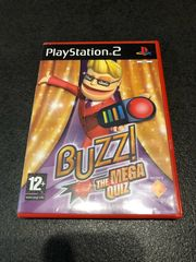 PlayStation PS2 Buzz Mega Quiz
